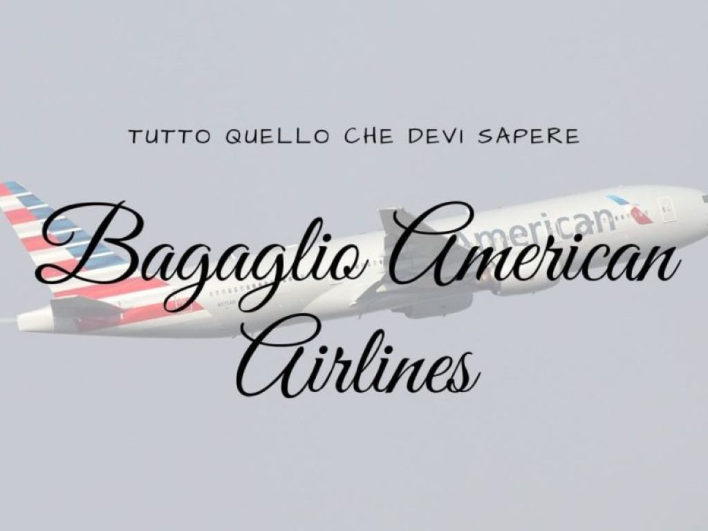 Bagaglio American Airlines