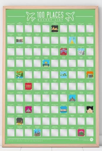 Poster 100 posti da visitare