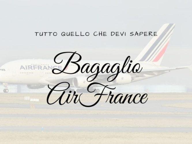 Bagaglio Air France