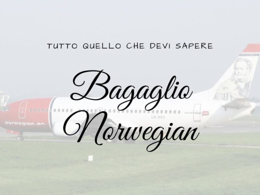 Bagaglio Norwegian