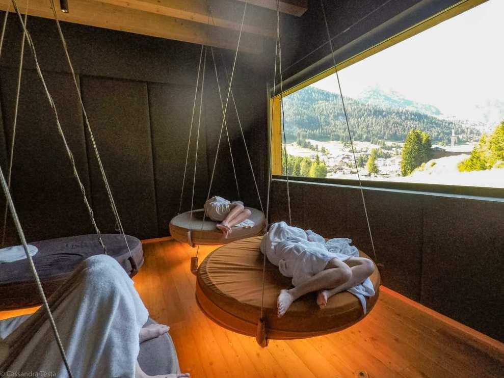 Sala relax QC Terme Dolomiti