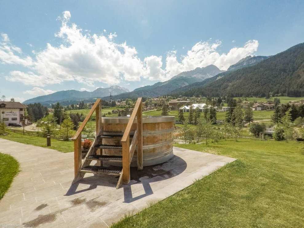 Vasca Tino di Vino QC Terme Dolomiti