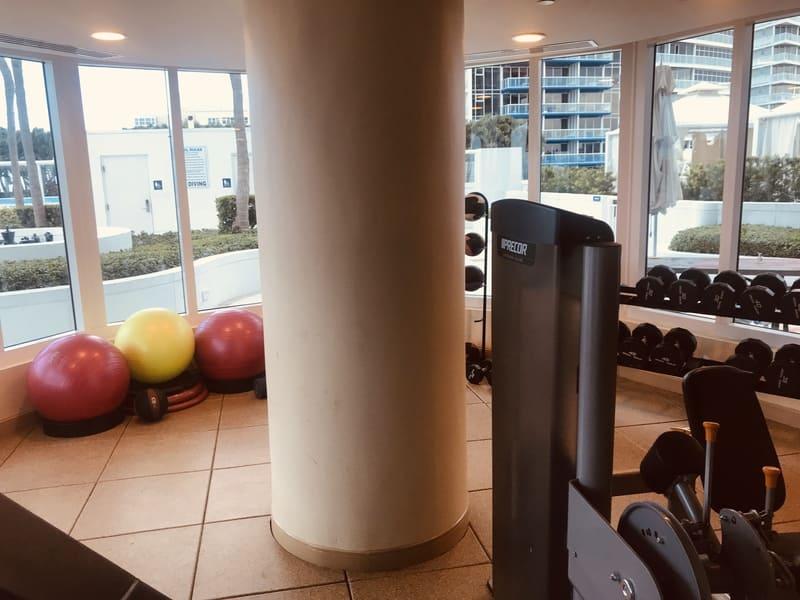 Attrezzi palestra Hilton Beach Resort Fort Lauderdale