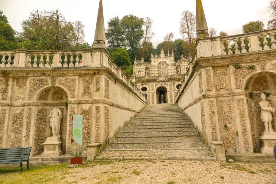 Giardini all'italiana Villa della Regina