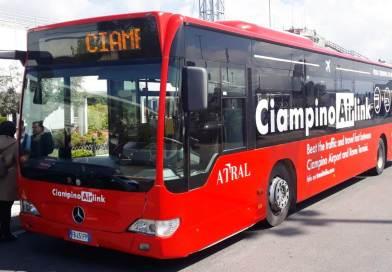Collegamento Aeroporto Ciampino con stazione Roma Termini