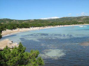 spiaggia rondinara corsica sud