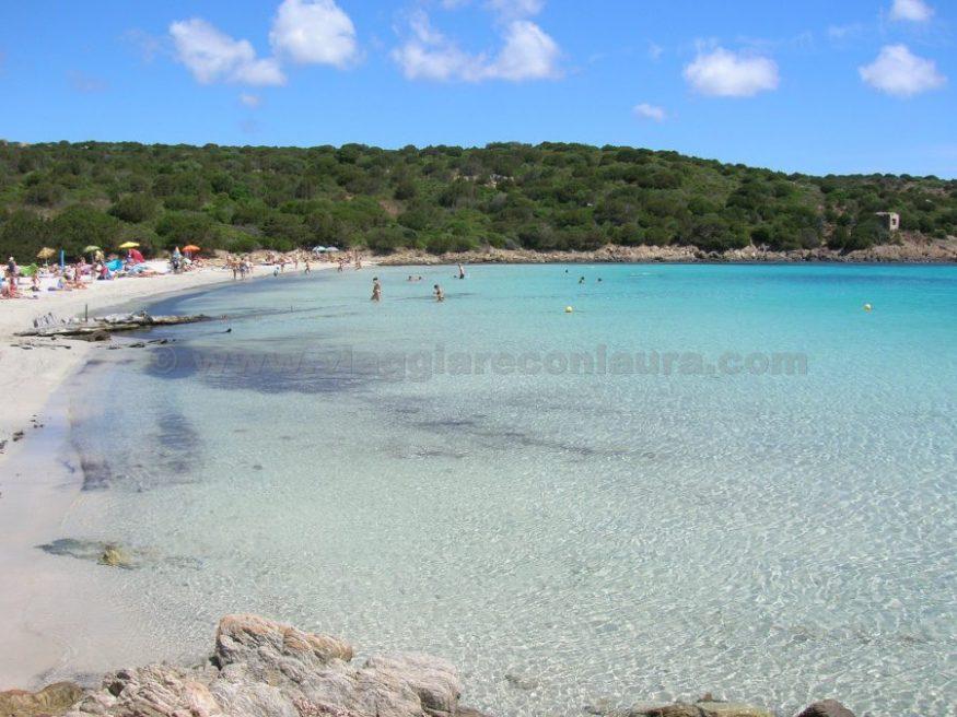 spiaggia del relitto isola di caprera