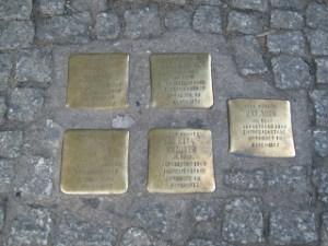 Stolpersteine berlino