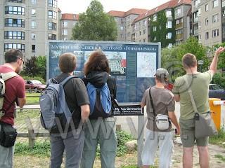 dove un tempo c'era bunker hitler berlino