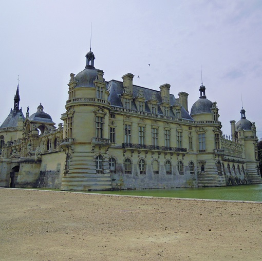 chateau chantilly francia