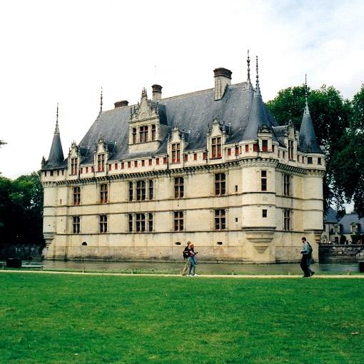 castello azay le rideau valle loira francia