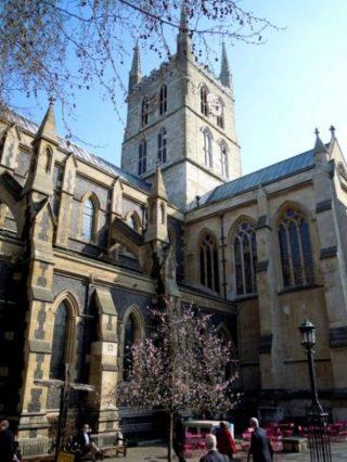 Southwark cattedrale gotica londra