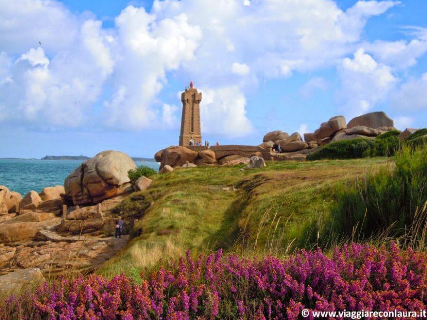 sentiero dei doganieri costa granito rosa bretagna