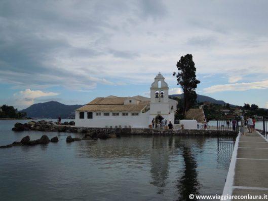 Pontikonissi o Isola dei Topi Corfù