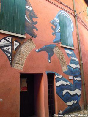 Dozza murales borghi più belli d'Italia