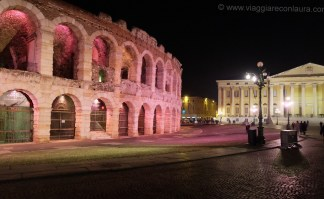 arena verona by night
