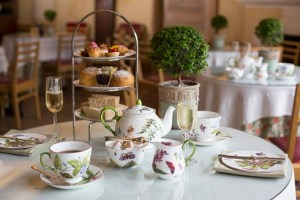 a tea at Highgrove, Prince of Wales