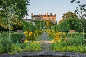 West front and Thyme Walk, Highgrove