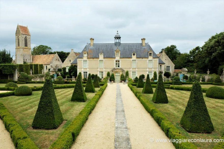 giardini della normandia - chateau du brecy