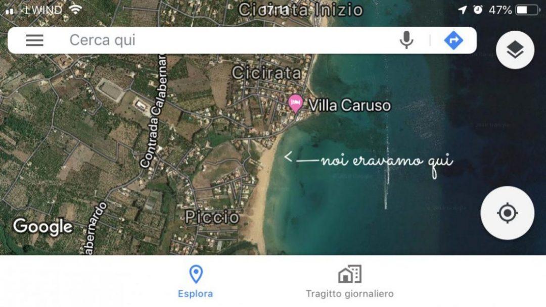 mappa spiaggia sicilia