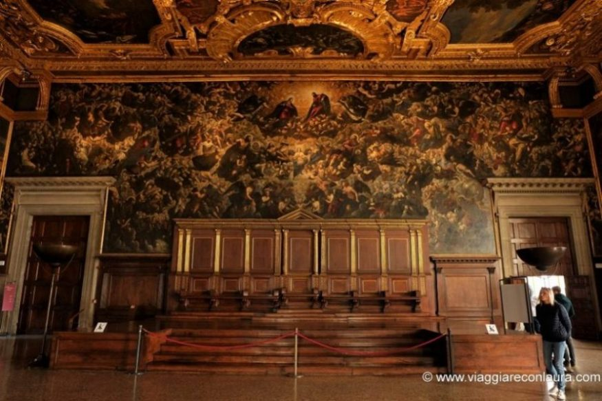 visita palazzo ducale venezia - il paradiso tintoretto