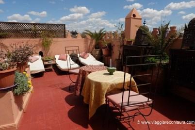 dove alloggiare a marrakech riad sable chaud