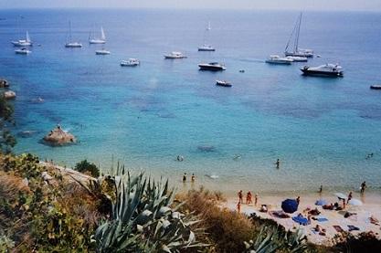 isola del giglio cosa vedere - spiaggia le cannelle