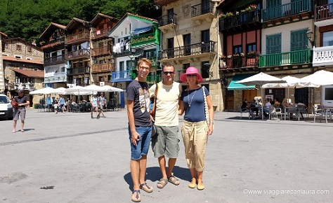itinerario nei paesi baschi spagnoli - pasaia donibane