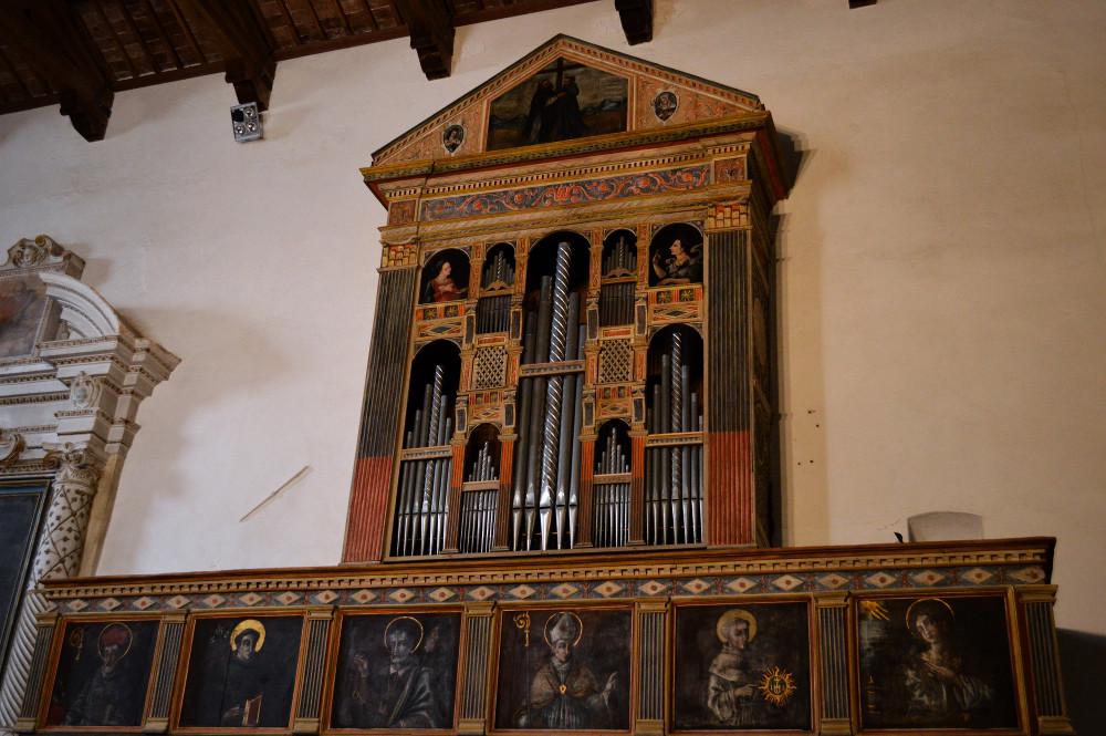 Organo da muro (Chiesa di S. Francesco)