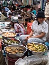 Cambogia - Kratie - Mercato