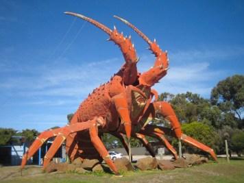 Australia - Limeston Coast - Kingston - Lobster Statue