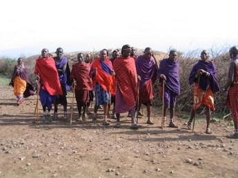 Kenya - Amboseli National Park - Popolazione masai