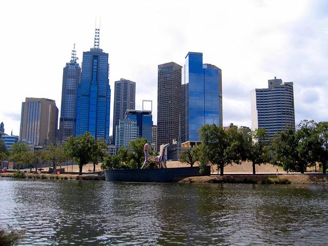 Australia - Melbourne - Yarra River