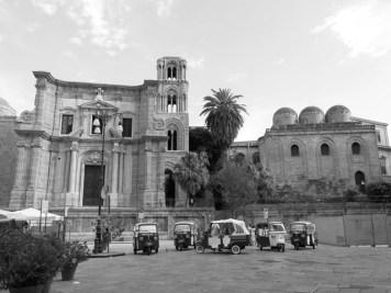 Palermo - Chiesa della Martorana e Chiesa di San Giovanni degli Eremiti