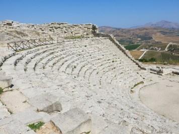 Segesta - Teatro greco