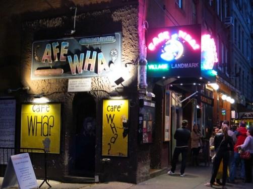 U.S.A. - New York City - Cafe Wha?