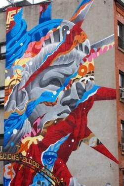 U.S.A. - New York City - Murales