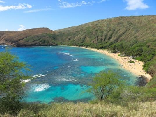 Hawaii - Oahu - Hanauma Bay Nature Preserve Park