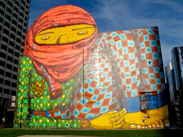 U.S.A. - New England - Massachusetts - Boston - Os Gemeos's Murales