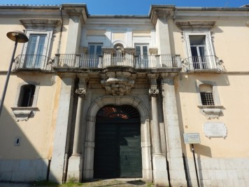Benevento - Palazzo Rotondi Andreotti Leo