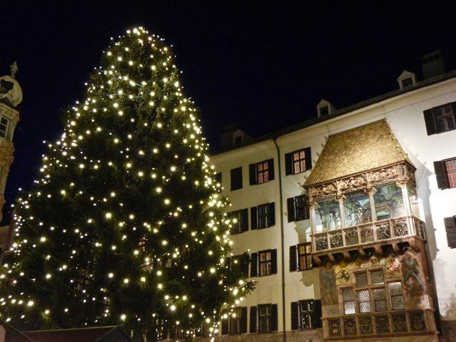 Innsbruck - Mercatini di Natale - Tettuccio d'Oro (Goldenes Dachl)