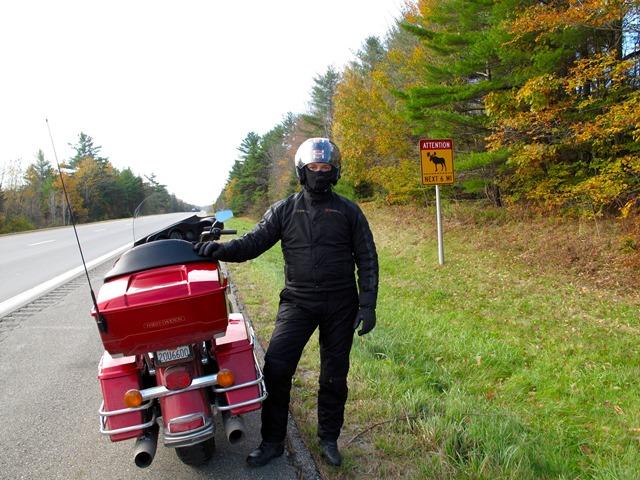 U.S.A. - New England - Maine - Waterville - Segnali stradali