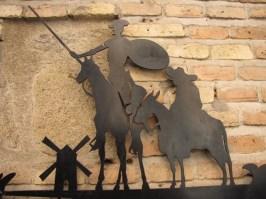 Spagna - Toledo - Don Chisciotte e Sancio Panza