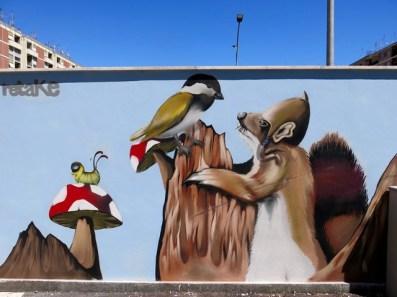 Arte Urbana (Street Art) - Pigneto: Orghone