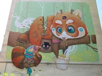 Arte Urbana (Street Art) - Pigneto: Antonio Segura Donat (DULK)