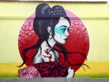 Arte Urbana (Street Art) - Quadraro: Fin DAC
