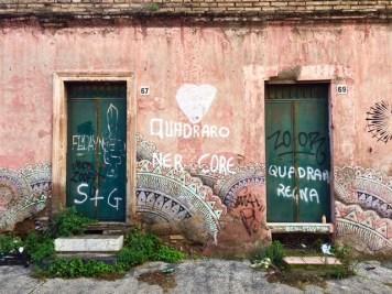 Arte Urbana (Street Art) - Quadraro: Beau Stanton - Senza Titolo