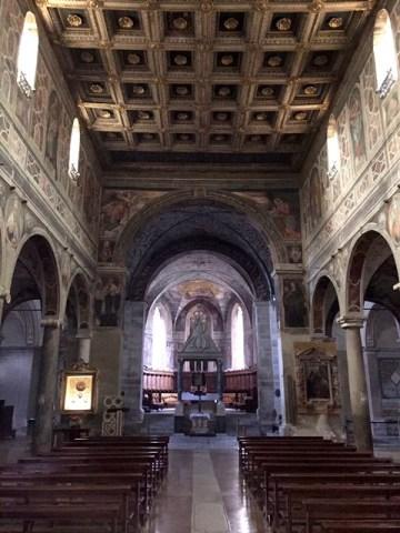 Interno della Chiesa di Santa Maria