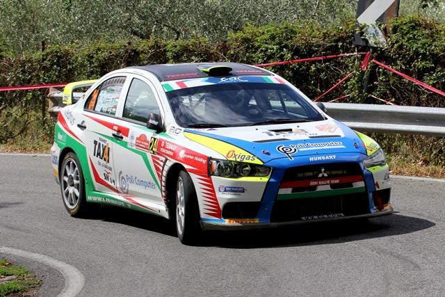 Rally di Roma Capitale - Mitsubishi Lancer Evo IX