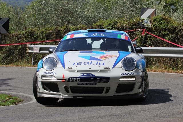 Rally di Roma Capitale - Porsche 997 GT3 RS